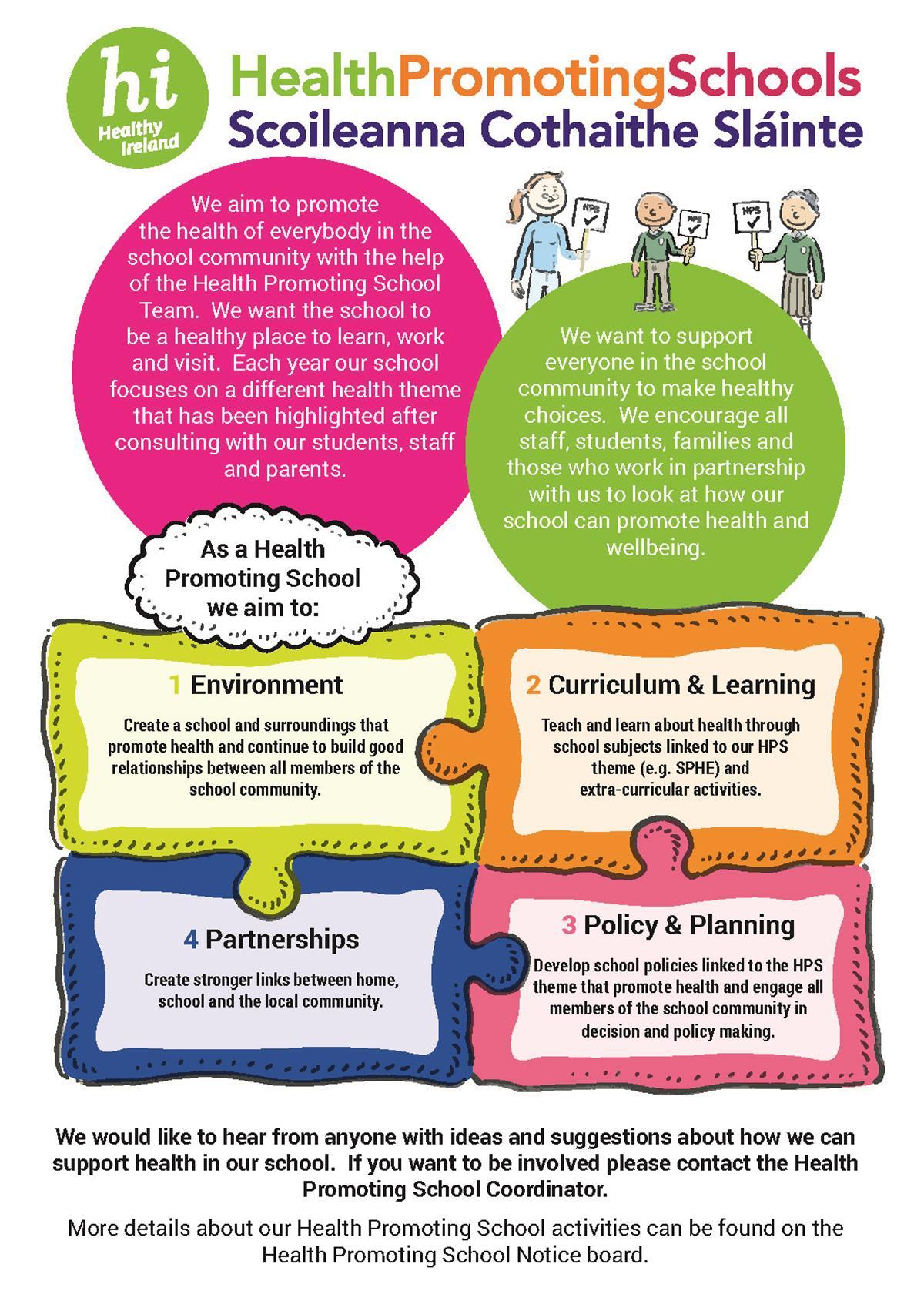 Health Promoting Schools / Mental Health